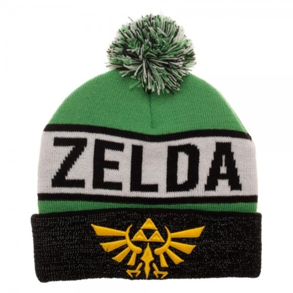 7bbbbfa263d Legend of Zelda Reflective Cuff Beanie Hat